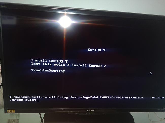 为杰拓I33安装centos7.0操作系统